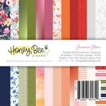 Summer Stems 6x6 Paper Pad - Honey Bee Stamps