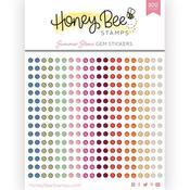 Summer Stems Gem Stickers - Honey Bee Stamps