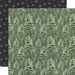 Under The Tree Paper - Simple Vintage Rustic Christmas - Simple Stories - PRE ORDER
