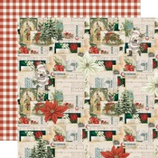 Wrapped With Care Paper - Simple Vintage Rustic Christmas - Simple Stories