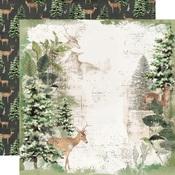 Reindeer Games Paper - Simple Vintage Rustic Christmas - Simple Stories