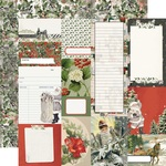 Journal Elements Paper - Simple Vintage Rustic Christmas - Simple Stories