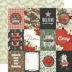 3x4 Elements Paper - Simple Vintage Rustic Christmas - Simple Stories