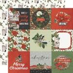 4x4 Elements Paper - Simple Vintage Rustic Christmas - Simple Stories