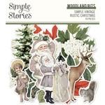 Simple Vintage Rustic Christmas Woodland Bits & Pieces - Simple Stories - PRE ORDER