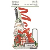 Merry Christmas Simple Pages Page Pieces - Simple Stories - PRE ORDER