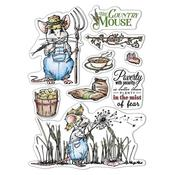 The Country Mouse Clear Stamps - Aesop's Fables - Ciao Bella - PRE ORDER