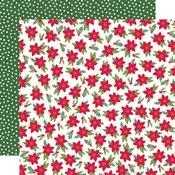 Mistletoe Memories Paper - Holly Days - Simple Stories