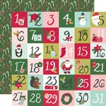 2x2 Elements Paper - Holly Days - Simple Stories - PRE ORDER