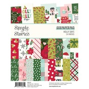 Holly Days 6x8 Paper Pad - Simple Stories