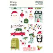 Holly Days Sticker Book - Simple Stories