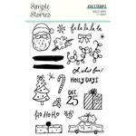 Holly Days Stamps - Simple Stories