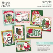 Simple Cards Card Kit - Christmas Wishes - Simple Stories - PRE ORDER