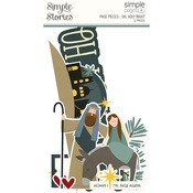 Simple Pages Page Pieces - Oh, Holy Night - Simple Stories - PRE ORDER