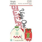Simple Pages Page Pieces - Ugly Christmas Sweater - Simple Stories - PRE ORDER