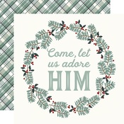 Adore Him Paper - Oh, Holy Night - Simple Stories - PRE ORDER