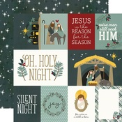 Element Cards Paper - Oh, Holy Night - Simple Stories - PRE ORDER