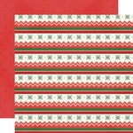 Eat, Drink And Be Tacky Paper - Ugly Christmas Sweater - Simple Stories - PRE ORDER
