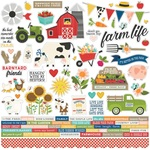 Homegrown Cardstock Sticker - Simple Stories