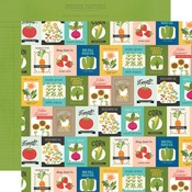 Feed & Seed Paper - Homegrown - Simple Stories - PRE ORDER