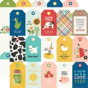 Tags Paper - Homegrown - Simple Stories - PRE ORDER