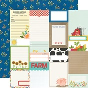 Journal Elements Paper - Homegrown - Simple Stories - PRE ORDER
