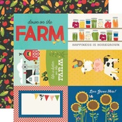4x6 Elements Paper - Homegrown - Simple Stories - PRE ORDER