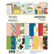 Homegrown 6x8 Paper Pad - Simple Stories - PRE ORDER