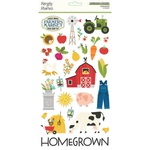 Homegrown  6x12 Chipboard - Simple Stories