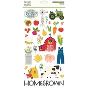 Homegrown  6x12 Chipboard - Simple Stories - PRE ORDER