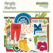 Homegrown Bits & Pieces - Simple Stories - PRE ORDER