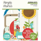 Homegrown  Journal Bits  - Simple Stories - PRE ORDER