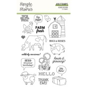 Homegrown Stamps - Simple Stories - PRE ORDER
