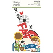 Simple Pages Page Pieces On the Farm - Simple Stories - PRE ORDER
