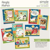 Simple Cards Card Kit Just Chicken In - Simple Stories - PRE ORDER
