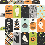 Tags Paper - Spooky Nights - Simple Stories