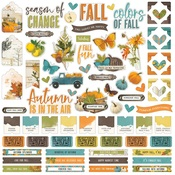 Simple Vintage Country Harvest Cardstock Sticker - Simple Stories