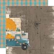 Happy Harvest Paper - Simple Vintage Country Harvest - Simple Stories