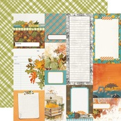 Journal Elements Paper - Simple Vintage Country Harvest - Simple Stories