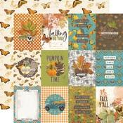 3x4 Elements Paper - Simple Vintage Country Harvest - Simple Stories