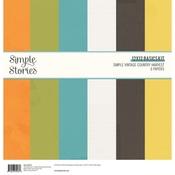 Simple Vintage Country Harvest 12x12 Basics Paper Kit - Simple Stories