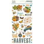 Simple Vintage Country Harvest 6x12 Chipboard - Simple Stories