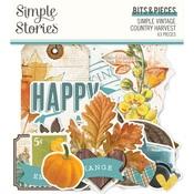 Simple Vintage Country Harvest Bits & Pieces - Simple Stories