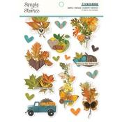 Simple Vintage Country Harvest Sticker Book - Simple Stories - PRE ORDER