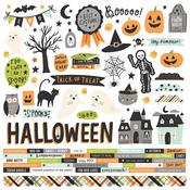 Spooky Nights Cardstock Sticker - Simple Stories