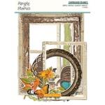 Simple Vintage Country Harvest Chipboard Frames - Simple Stories - PRE ORDER