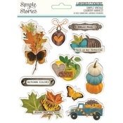 Simple Vintage Country Harvest Layered Stickers - Simple Stories