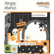 Spooky Nights Journal Bits - Simple Stories