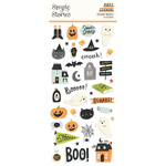 Spooky Nights Puffy Stickers - Simple Stories