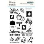 Simple Vintage Country Harvest Clear Stamps - Simple Stories